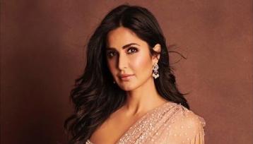Photo of Katrina Kaif looks gorgeous in an embellished sari