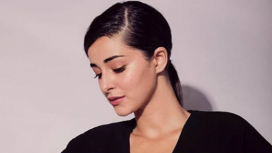 Photo of Ananya Panday looks glamorous in this outfit