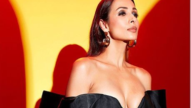 Photo of Malaika Arora looks gorgeous in an off shoulder top and flare pants