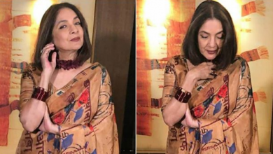 Photo of Neena Gupta looks gorgeous during the promotions of Shubh Mangal Zyaada Saavdhaan