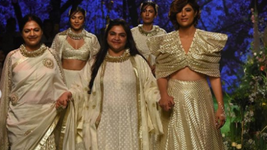 Photo of Tahira Kashyap Khurrana looks ravishing at the Lakme Fashion Week 2020