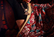 Photo of Malaika Arora pulls off this crop top and ethnic saree look effortlessly