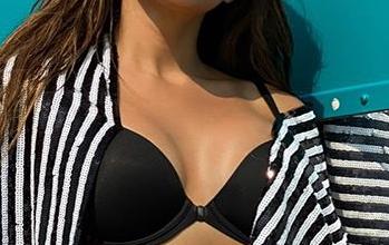 Photo of Sara Ali Khan ups the ante in bikini top and mini shorts