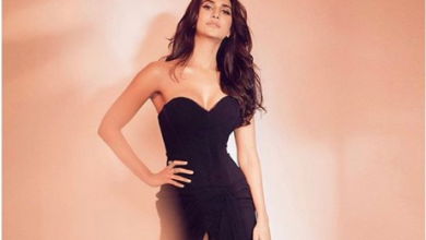 Photo of Vaani Kapoor pulls it off in a black dress