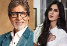 Photo of Amitabh Bachchan & Katrina Kaif as Father-Daughter in an upcoming movie.