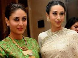 Photo of Kareena and Karishma Kapoor waiting for a perfect script to work together.