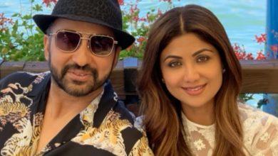 Photo of Shilpa Shetty and Raj Kundra ace the 'happy dance' challenge