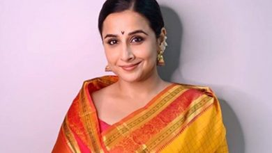 Photo of Vidya Balan on resuming work amid COVID-19: Will have to be much more cautious