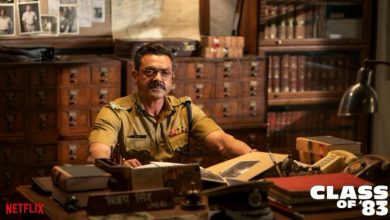 Photo of Class of 83 trailer: Bobby Deol makes a grand comeback