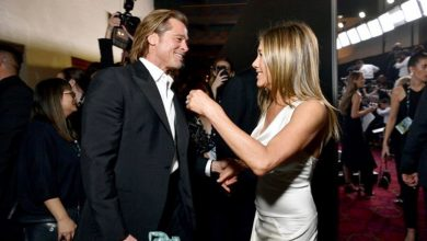 Photo of Brad Pitt and Jennifer Aniston reunite for a good cause