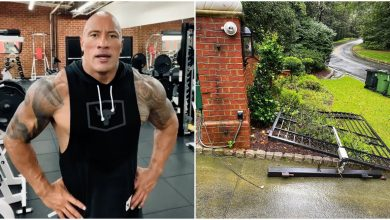Photo of Dwayne Johnson rips off a metal gate with bare hands, channels his inner Black Adam