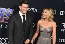 Photo of Scarlett Johansson ties the knot with Colin Jost