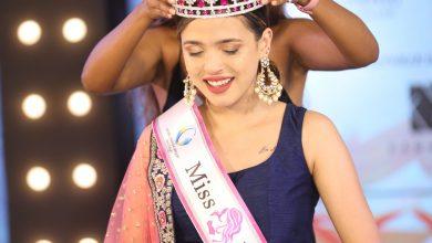 Photo of Goel Ganga Miss Fab India winner is Chelsea Stewart.