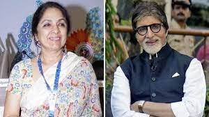 Photo of Neena Gupta recalls how intimidated she was when she first met Amitabh Bachchan